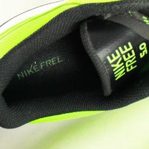Nike Free Trainer 5.0 V3 Acid Green Running Shoes